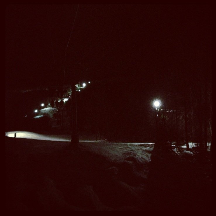 Bolton Valley night skiing