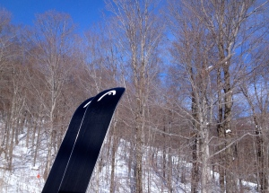 Head skis, Stowe gondola