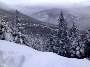 A true Stowe powder day