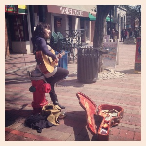 Musician on Church Street