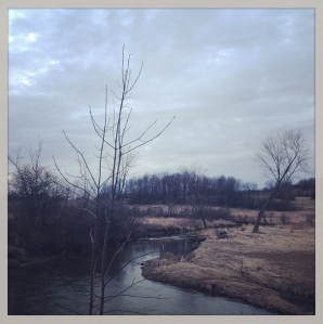 contour lines rivier