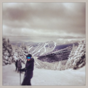 View of Stowe from Smuggler's Notch